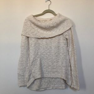 Anthro cowl neck sweater